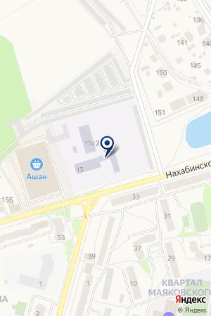 ПРОФЕССИОНАЛЬНОЕ УЧИЛИЩЕ № 46 на карте Звенигорода