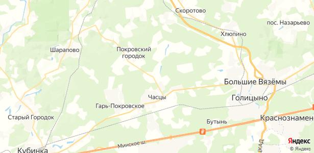 Брехово на карте