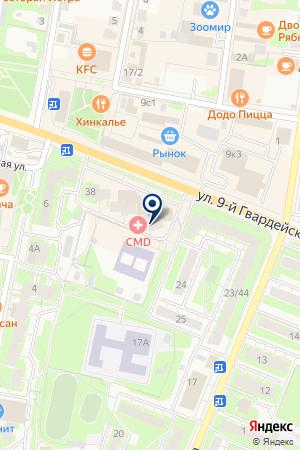 АПТЕКА № 273 на карте Истры