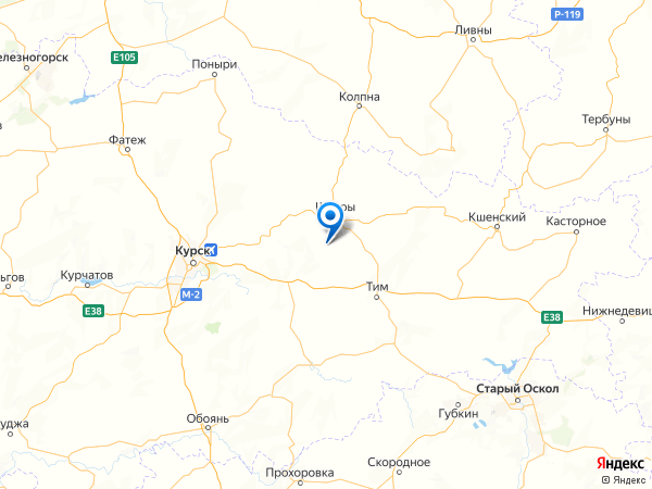 деревня Озерки на карте
