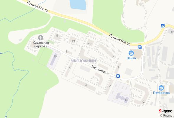 жилой комплекс Радужная 21