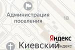 Схема проезда до компании Магазин цветов в Киевском