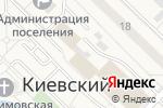 Схема проезда до компании Киевский дворик в Киевском