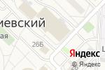 Схема проезда до компании Магазин мебели на заказ в Киевском