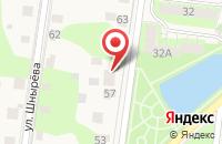 Схема проезда до компании Доренко Биз в Истре