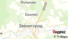 Гостиницы города Супонево на карте