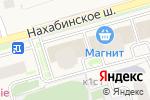 Схема проезда до компании Здоровье в Звенигороде