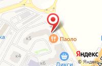 Схема проезда до компании СиаФлор в Звенигороде