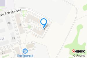 Снять двухкомнатную квартиру в Истре мкр. Восточный, ул.Голованова, 14