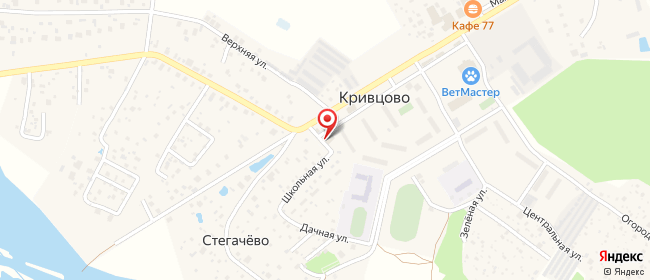 Карта расположения пункта доставки Халва в городе Кривцово