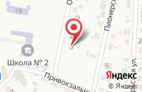 Схема проезда до компании Магнит в Бабяково