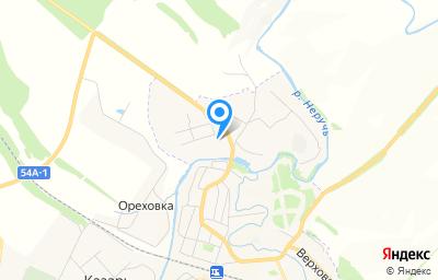 Местоположение на карте пункта техосмотра по адресу Орловская обл, пгт Залегощь, ул Ямская 1-я, литер А