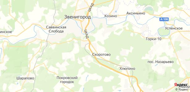 Введенское на карте