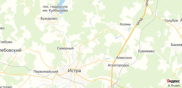 Сокольники на карте