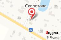Схема проезда до компании Магазин автозапчастей в Скоротово