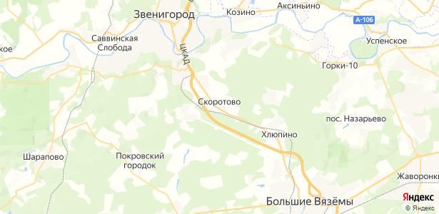 Скоротово на карте