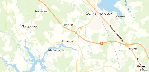 Обухово на карте