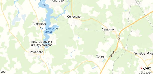 Огниково на карте
