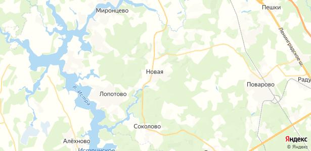 Новая на карте