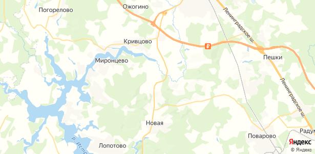 Судниково на карте