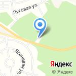 Магазин стройматериалов на карте Москвы
