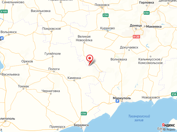 село Новгород на карте
