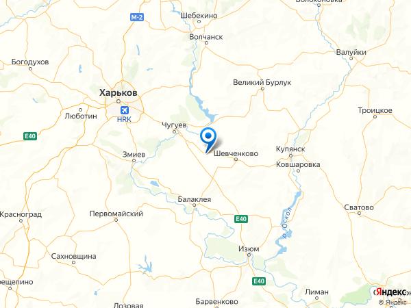 поселок городского типа Чкаловское на карте