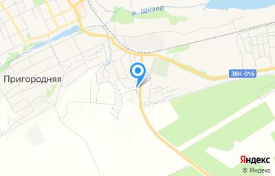 Местоположение на карте пункта техосмотра по адресу Курская обл, г Щигры, ул Зеленая, д 59