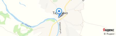 Колхоз имени М.А. Гурьянова на карте Тарутино