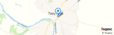 Магазин разливного пива на Центральной на карте Тарутино