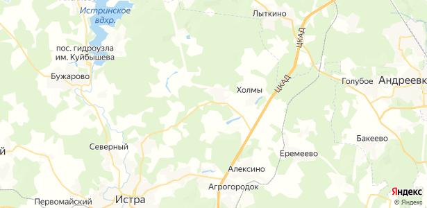 Духанино на карте