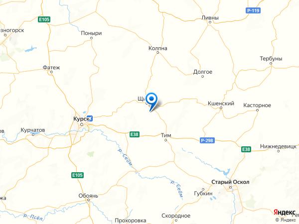 деревня Куликовка на карте