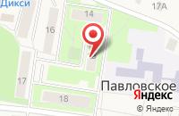 Схема проезда до компании Корсак в Павловском
