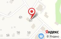 Схема проезда до компании Почтовое отделение №143512 в Духанино
