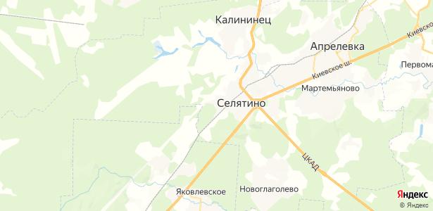 Селятино на карте