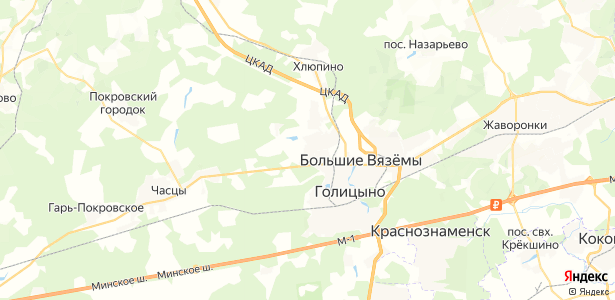 Летний отдых на карте