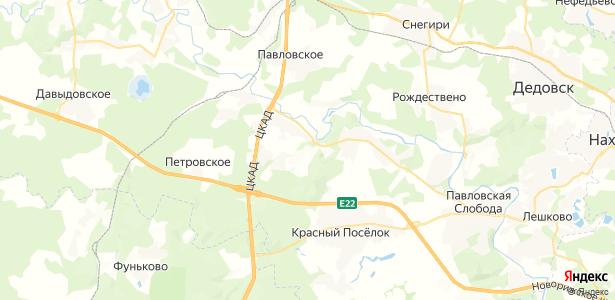 Борисково на карте