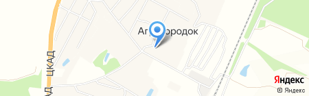Магазин хозяйственных товаров на ул. Агрогородок пос на карте Агрогородка