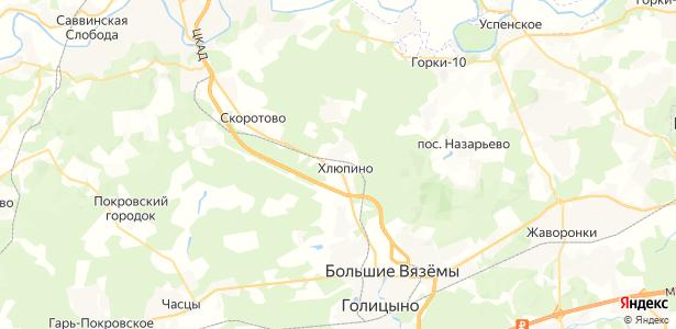 Хлюпино на карте
