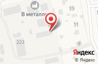 Схема проезда до компании ЭкоНива-Семена в Летнем отдыхе