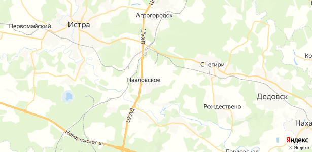 Манихино на карте