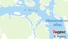 Отели города Уходово на карте
