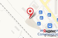 Схема проезда до компании МТС в Солнечногорске