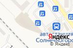 Схема проезда до компании Магазин одежды и обуви в Солнечногорске