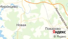 Отели города Алексеевское на карте