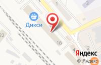 Схема проезда до компании Кордон в Солнечногорске