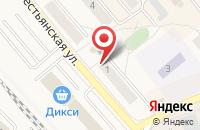 Схема проезда до компании Банк Возрождение в Солнечногорске