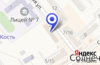 Схема проезда до компании СОЛНЕЧНОГОРСКИЙ ПОЧТАМТ в Солнечногорске