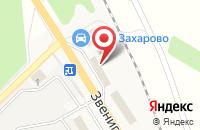 Схема проезда до компании НЭКСО в Летнем отдыхе
