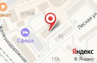 Схема проезда до компании Компания «Горки Девелопмент» в Солнечногорске